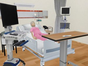 3D Nurses Training Game