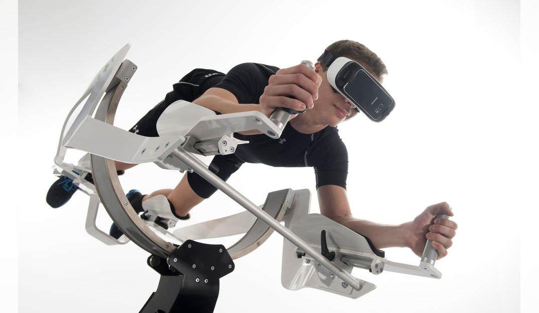 Full body VR experience