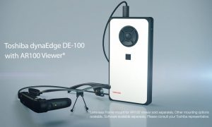 Toshiba dynaEdge for Augmented Reality
